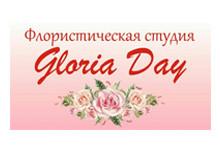 Логотип заведения Флористическая студия «Gloriа Day» - розы с бесплатной доставкой!