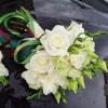 Букет невесты белый Флористическая студия «Gloriа Day» - розы с бесплатной доставкой!