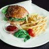 Бургер + фри Malina (Малина)