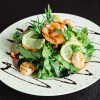 Салат с лососем и креветкой  Malina (Малина)