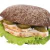 Гамбургер солодовый с курицей Франс.уа
