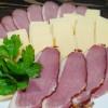 Ассорти сырное и мясное Пикничок