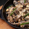 Сковородка с языком и шампиньонами GRILL PUB (Гриль Паб)