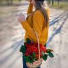 35 красных роз в корзинке MixFlowers - букеты с бесплатной доставкой!