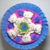 Букет из мишек синий Оригинальные Букеты